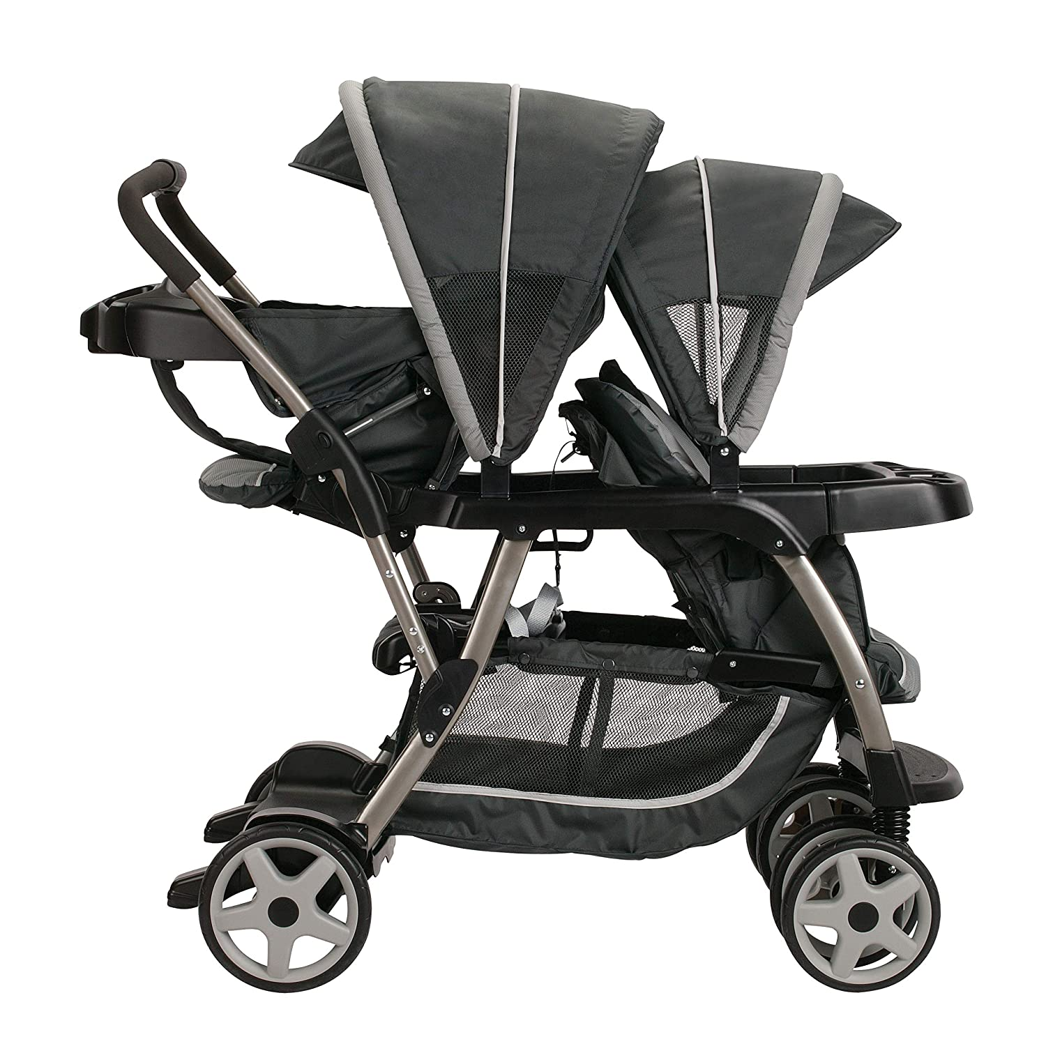 Graco Ready2grow Click Connect LX Stroller, Glacier 2015