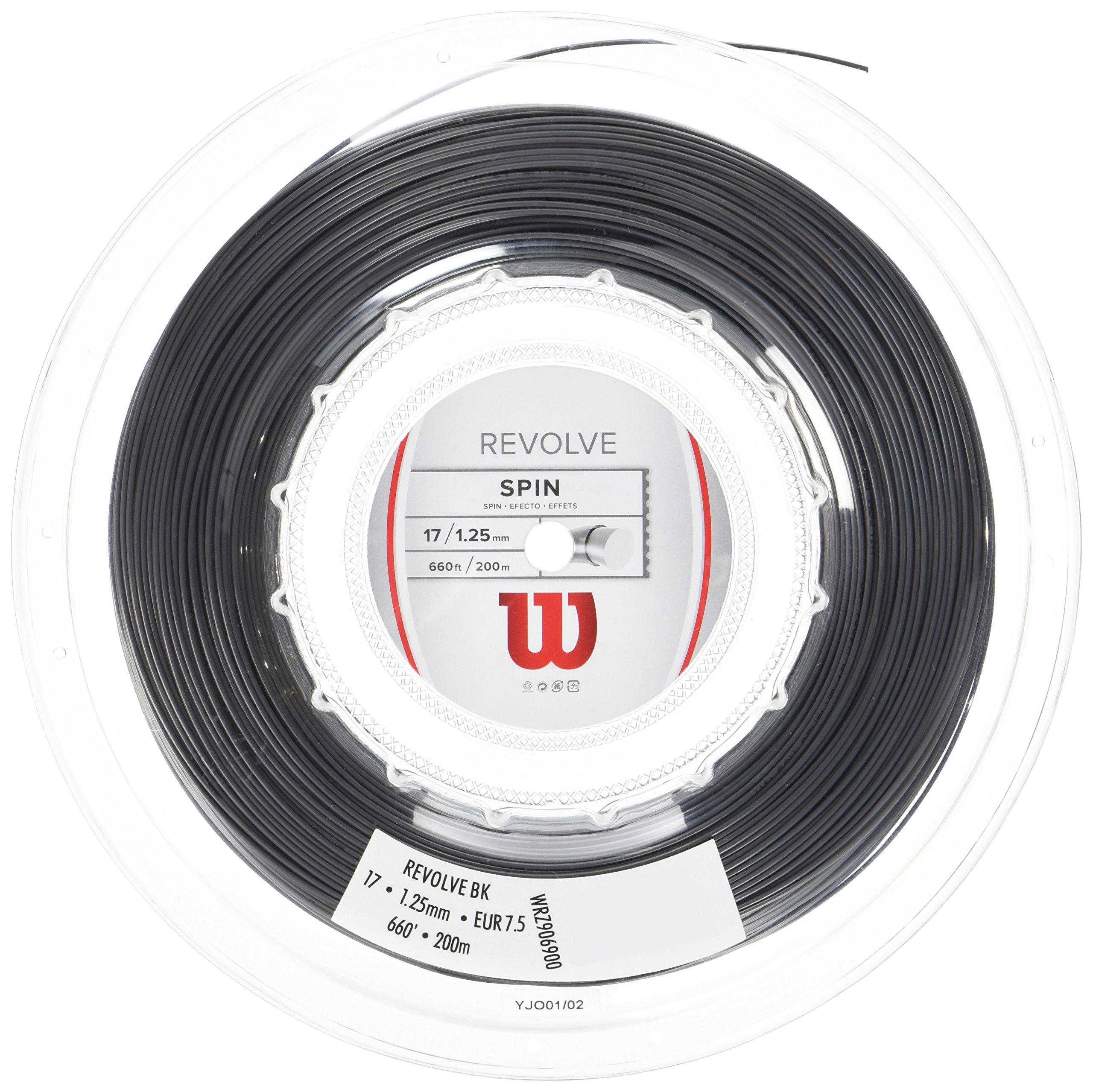 Wilson Revolve Reel, Black, 17-Gauge