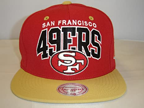 Image Unavailable. Image not available for. Color  Mitchell and Ness NFL San  Fransisco 49ers Arch Red 2 Tone Snapback Cap e1c0613d2199