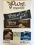 Pure Organic Fruit & Nut Bar Variety (15 Bars)