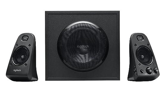 Logitech Z-623 2.1 Channel THX-Certified Multimedia Speakers