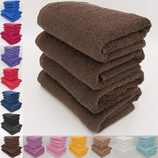 Juego de toallas de baño, 100% algodón natural, hilado en anillos ...