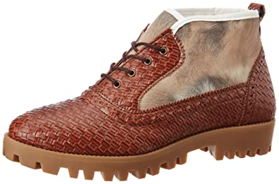 Knotty Derby Women's Ginny Ankle Gold Boots - 8 UK/India (41