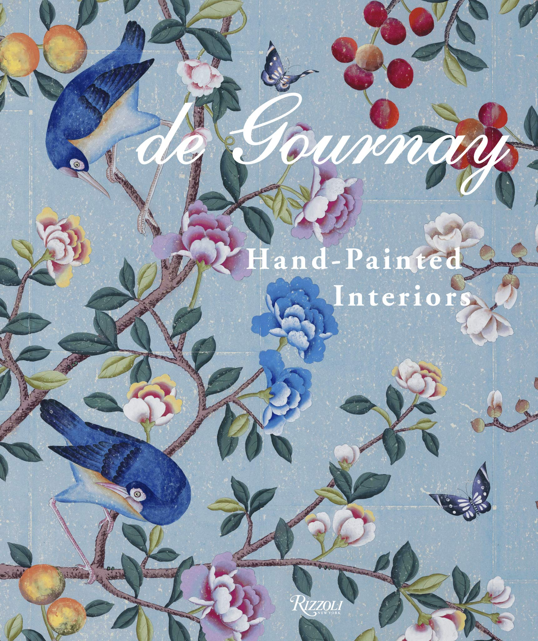 de Gournay: Hand-Painted Interiors by Claud Gurney