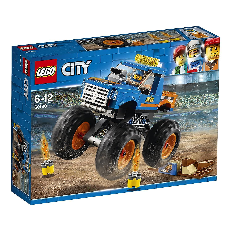 LEGO City 60180 - Starke Fahrzeuge Monster-Truck, Kinderspielzeug No Name LEGO®