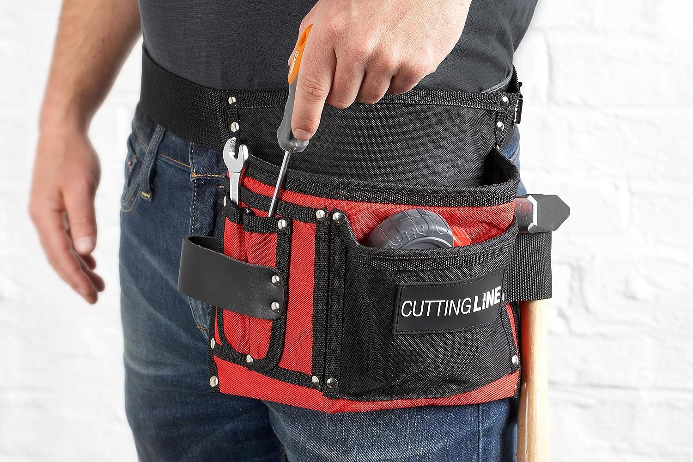 Cutting Line Werkzeug-Gürteltasche - 5 Taschen - Pflegeleicht ...