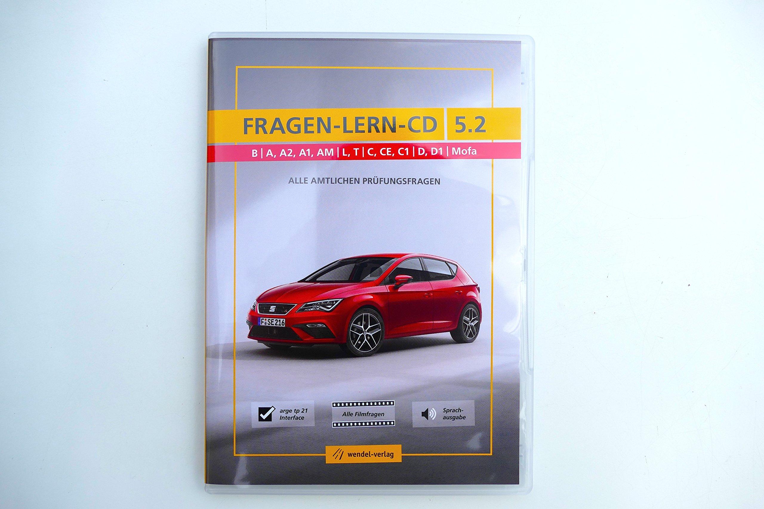 Wendel Verlag führerschein fragebogen cd top aktuell sprachen wählbar alle
