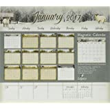 Legacy Publishing Group 2017 Magnetic Calendar Pad, The Road Home