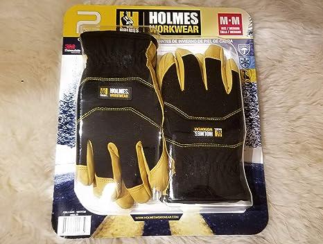 Amazon.com: New Holmes Workwear Piel de Cabra Invierno ...