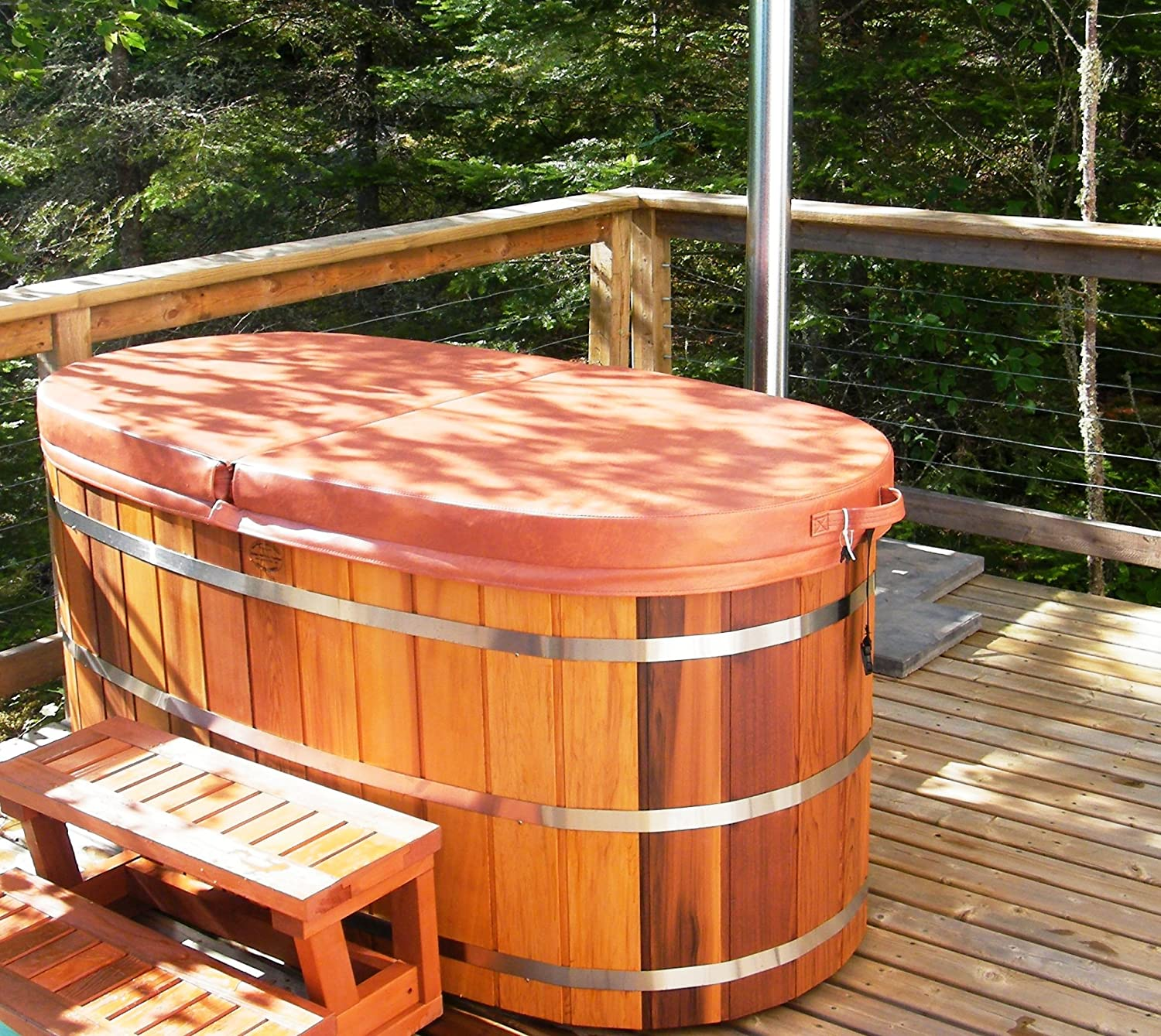 red outdoor with installation silicon hot filter heater cedar barrel product detail tub non