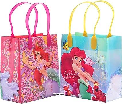Amazon.com: Bolsas de regalo de la princesa Ariel la ...