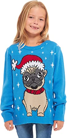Elf Retro New Camp Ltd Girls Kids Boys Children Unisex Christmas Xmas Knitted Novelty Football Jumper Sweater Christmas Xmas 2019 Exclusively to for Ages 2-14 Years