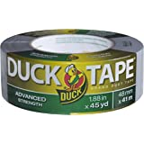 Duck Brand 240346 Advanced Strength Duck Tape, 1.88-Inch by 45-Yards, Single Roll, Silver