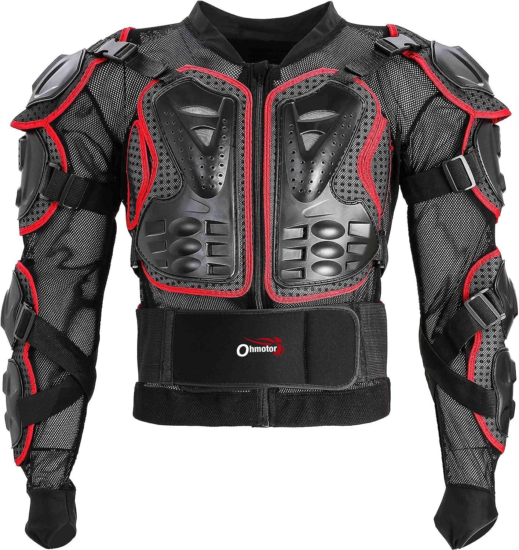 OHMOTOR Motorcycle Armor Jacket