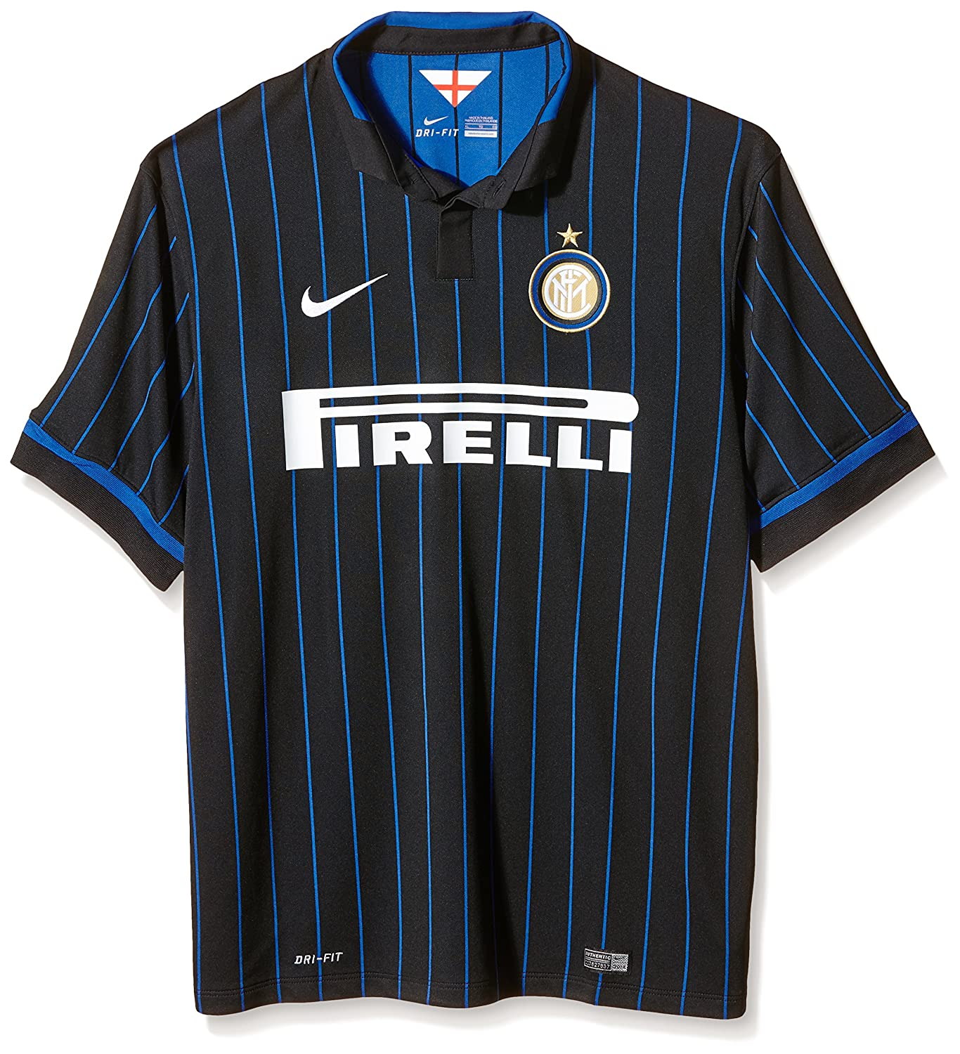 c815aa5f0ff Amazon.com   Nike Men s Inter Milan Home Soccer Jersey   Sports   Outdoors