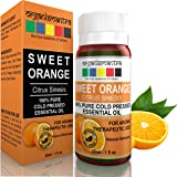 Organix Mantra Sweet Orange Essential Oil - Cold Pressed, Pure Aroma, Therapeutic Grade (30Ml)