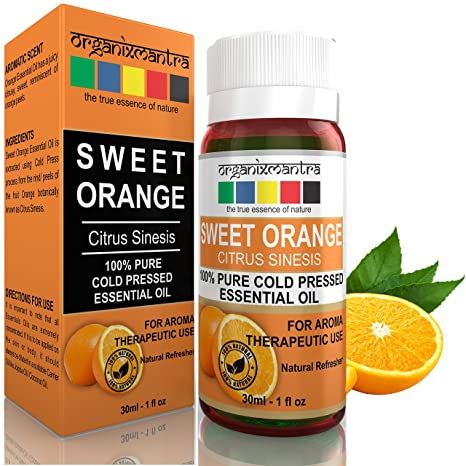 Organix Mantra Sweet Orange Essential Oil