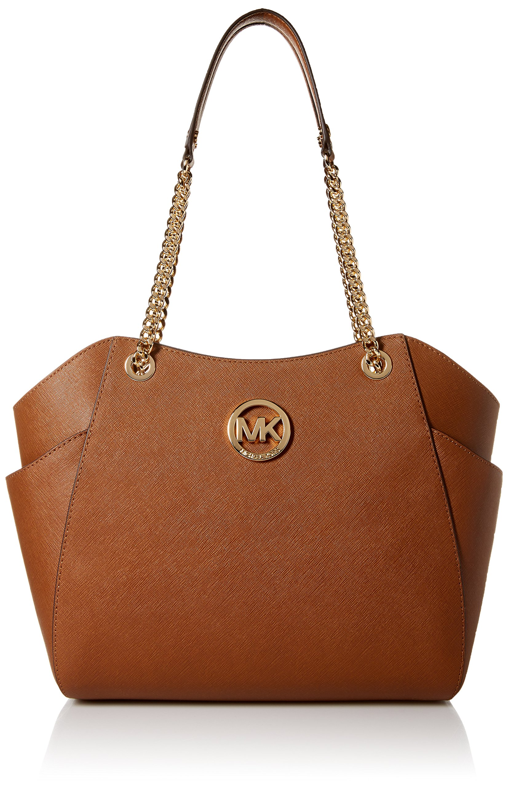 3fc5ad2bb6f Galleon - Michael Kors Jet Set Travel Large Chain Shoulder Tote - Luggage