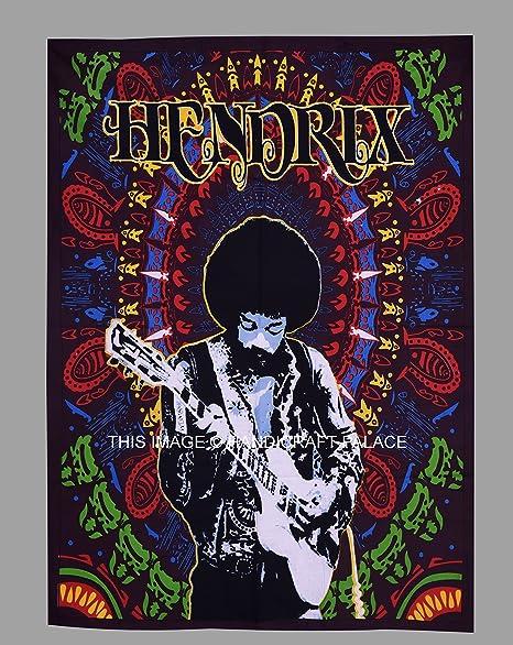 Amazon.com: Jimi Hendrix Psychedelic Hippie Tapestry de la ...