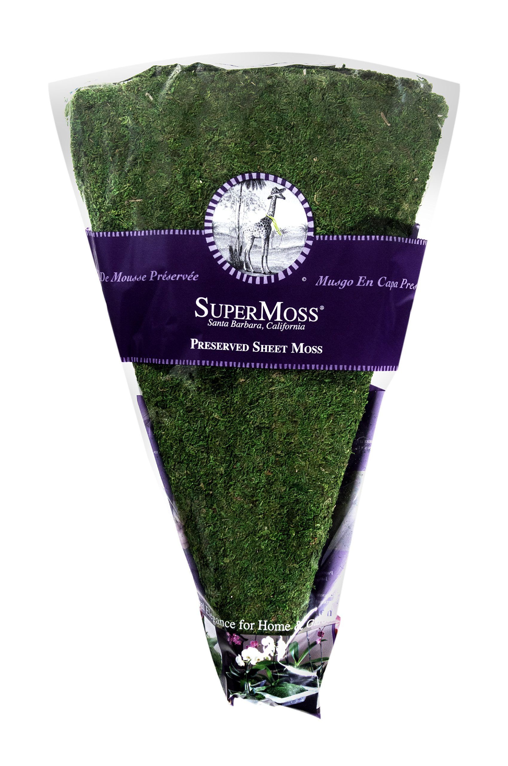 SuperMoss (22460) Moss Christmas Tree Skirt, Fresh Green, 36'' (1 unit)