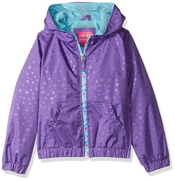 3023678b5 Amazon.com  Pink Platinum Girls  Inf Heat Stamp Active Jacket W mesh ...