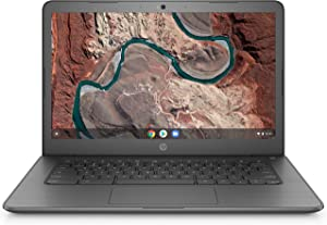 HP Chromebook 14-inch Laptop AMD Dual-Core A4-9120C Processor, 4 GB SDRAM, 32 GB eMMC Storage, Chrome OS (Gray)