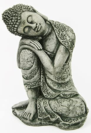 buddha garden statue. Thai Buddha Meditating Sitting Garden Statue Concrete Asian Chinese Sculpture Japanese Outdoor Statuary N