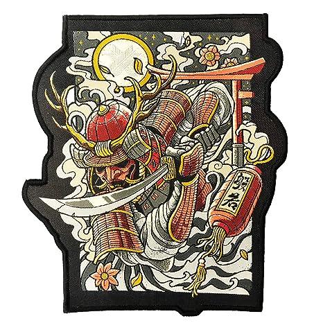 Ronin Oni Bushi Patch - Parche para mochila táctica Samurai ...