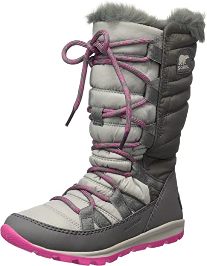 Sorel Girls' Youth Whitney Lace Snow