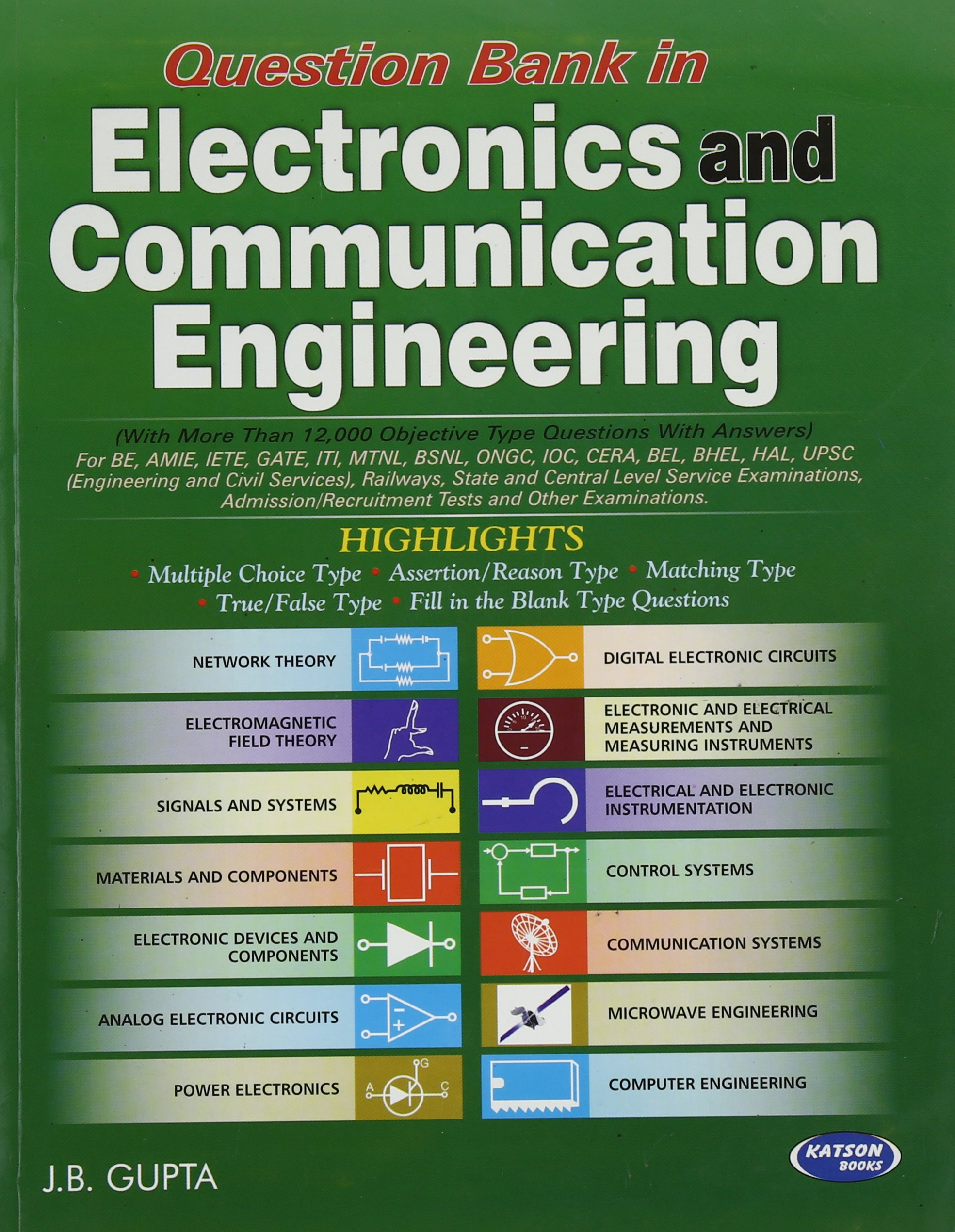 Buy Question Bank in Electronics & Communication Engineering