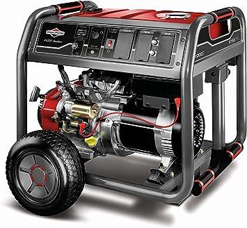 Amazon.com: Generador portátil de gasolina Briggs ...
