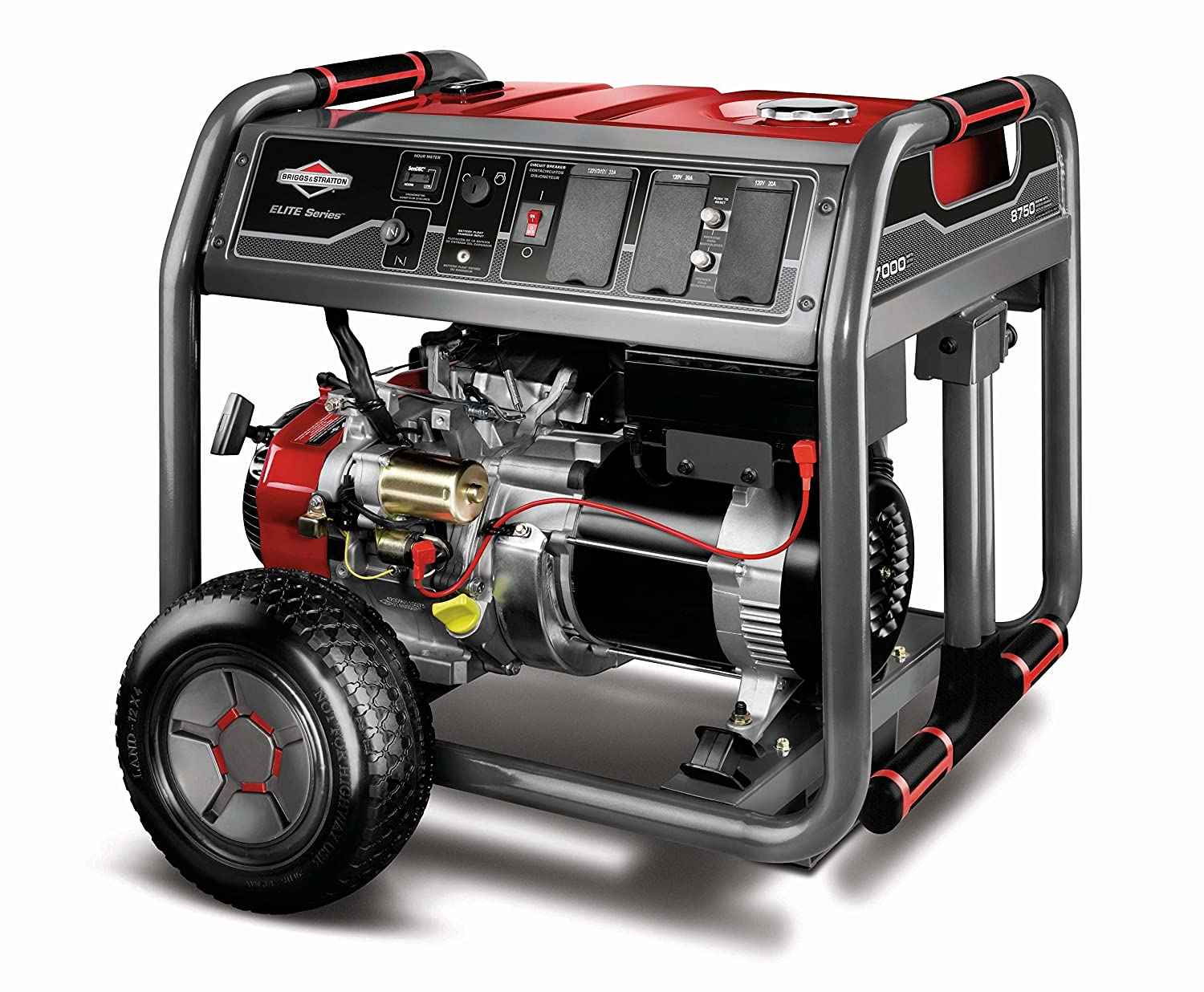 Amazon.com: Briggs & Stratton 30663, 7000 Running Watts/8750 ...