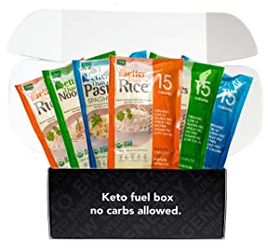 Better Than Rice, Pasta, Noodles made with Organic Konjac - Low Calorie, Zero Carb, Keto Friendly, Vegan, Gluten-Free, Non-GMO - 14 Ounces (6 Pack)