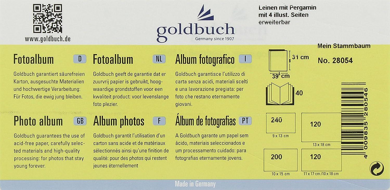 Goldbuch Babyschraubalbum, Mein Stammbaum, 39 x 31 cm, 40 Seiten mit ...