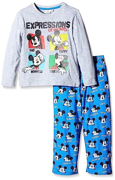 Disney Pyjama LONGO Mickey - Pijama Largo Infantil