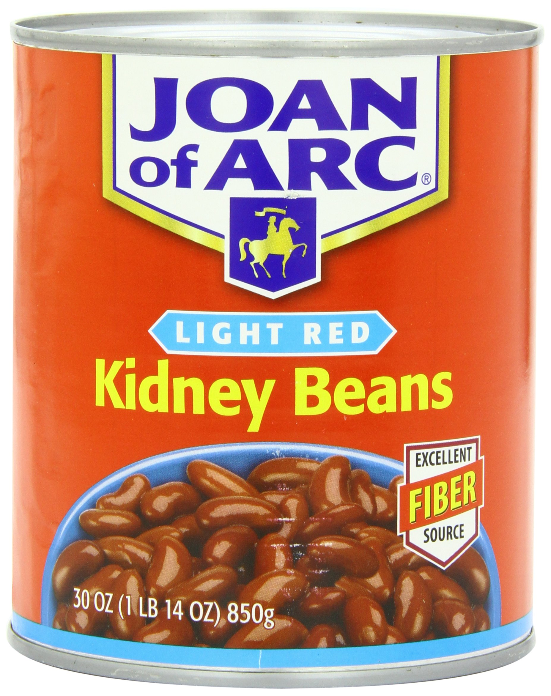 Joan of Arc Beans, Light Red Kidney, 30 Ounce (Pack of 12)