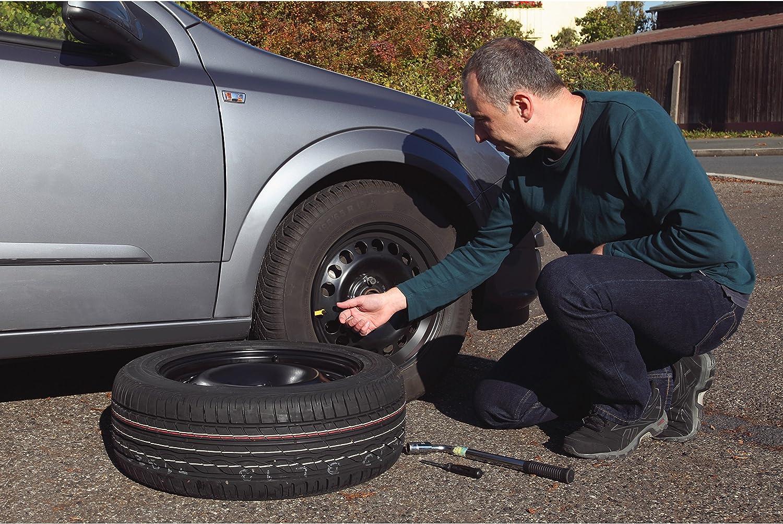 Wei/ß - 2er Set elasto Reifenmarkierset Reifenmarkierung f/ür Reifenwechsel Radmarker