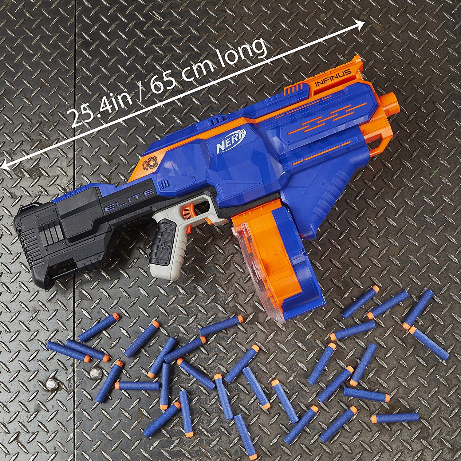 NERF Infinus N-Strike Elite Toy Motorized Blaster with Speed-Load Technology (FFP) by NERF (Image #4)
