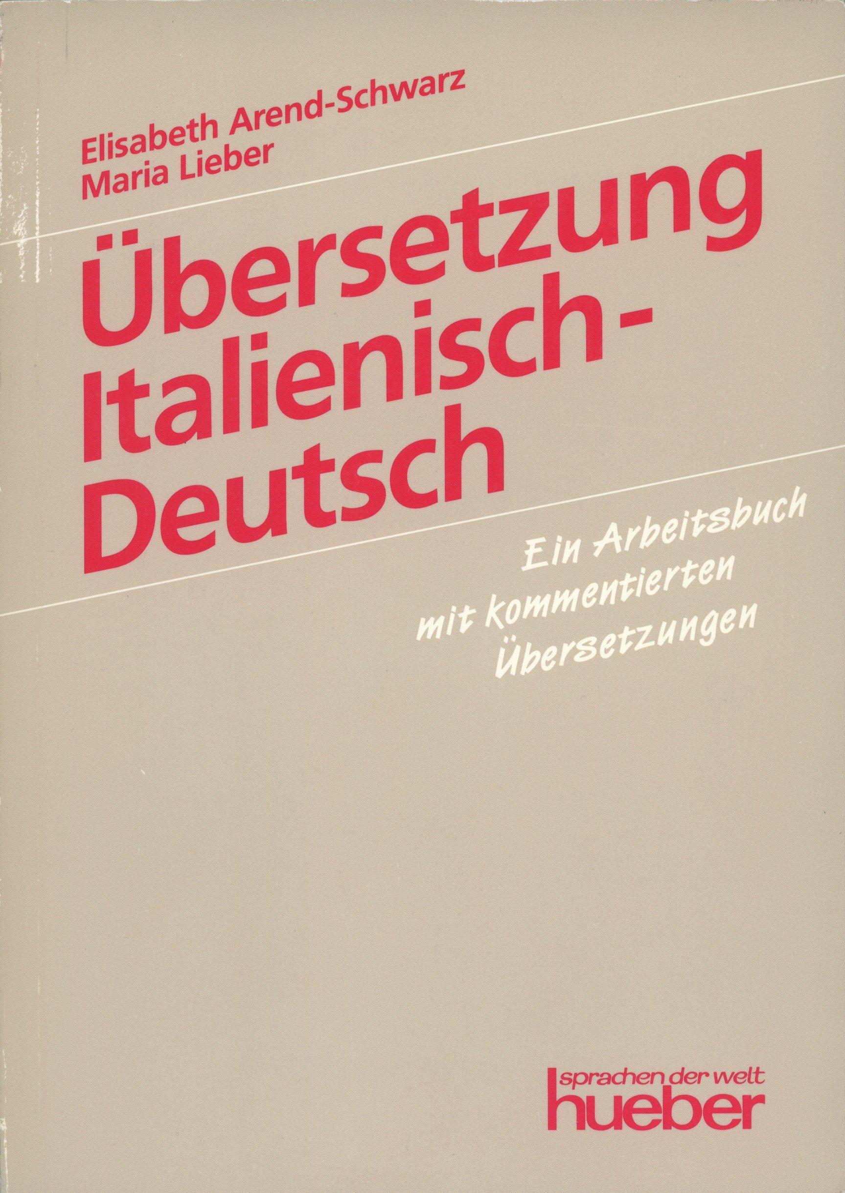 Übersetzung Italienisch-Deutsch