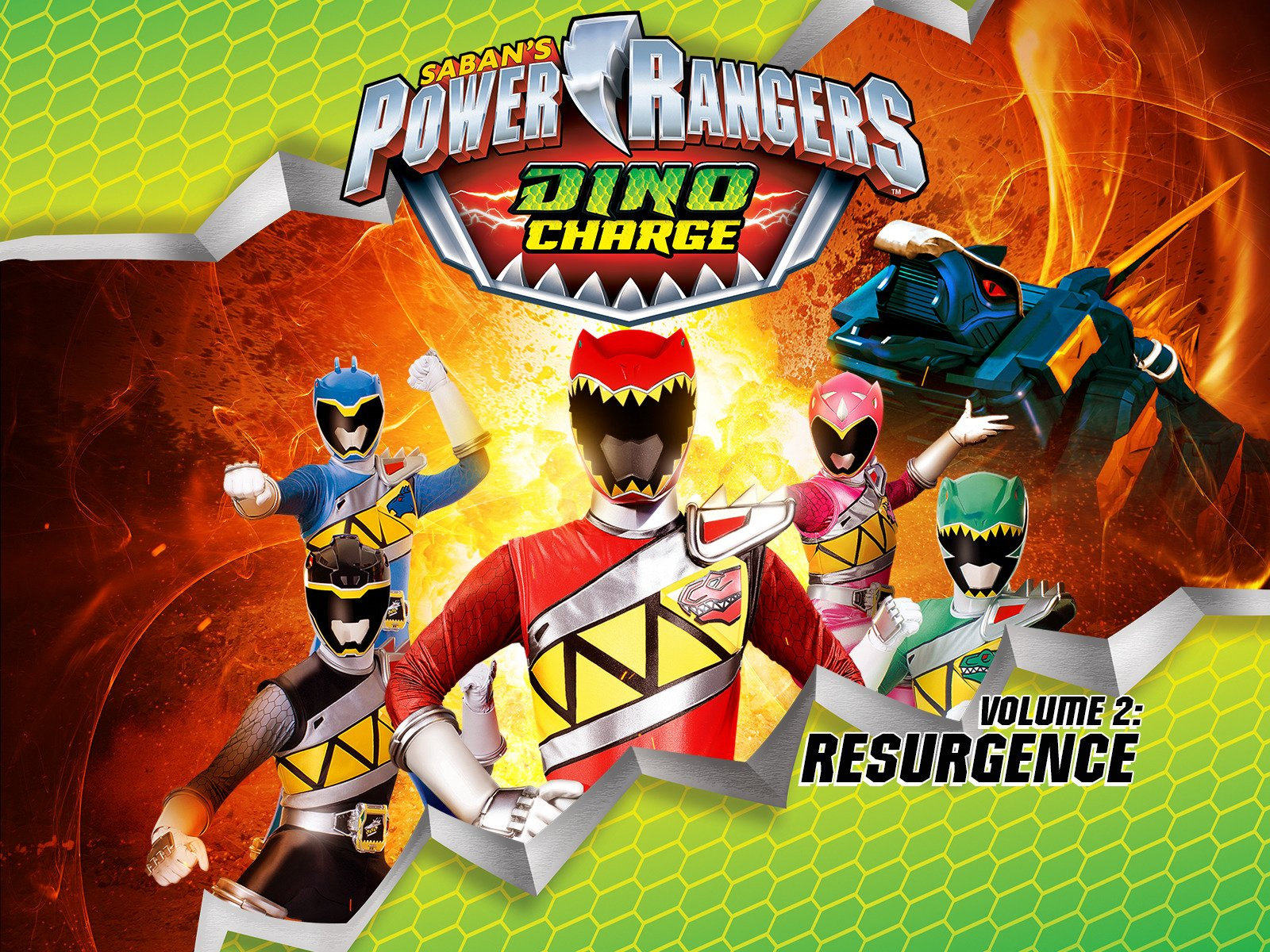 Watch Power Rangers Dino Charge Volume 2 Prime Video