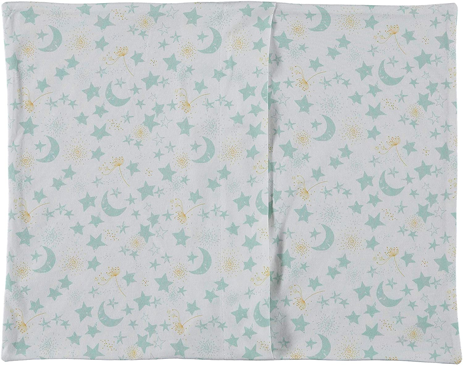 Super Soft Breathable Cute Colorful Smooth Premium Quality GOTS Certified Nursery Crib Bedding Toddler Pillowcase 13 x 18 Stars Soulwell Baby Organic Cotton Pillowcase