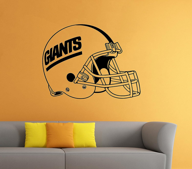 Amazon.com: New York Giants NFL Vinyl Decal Football Helmet Sticker ...