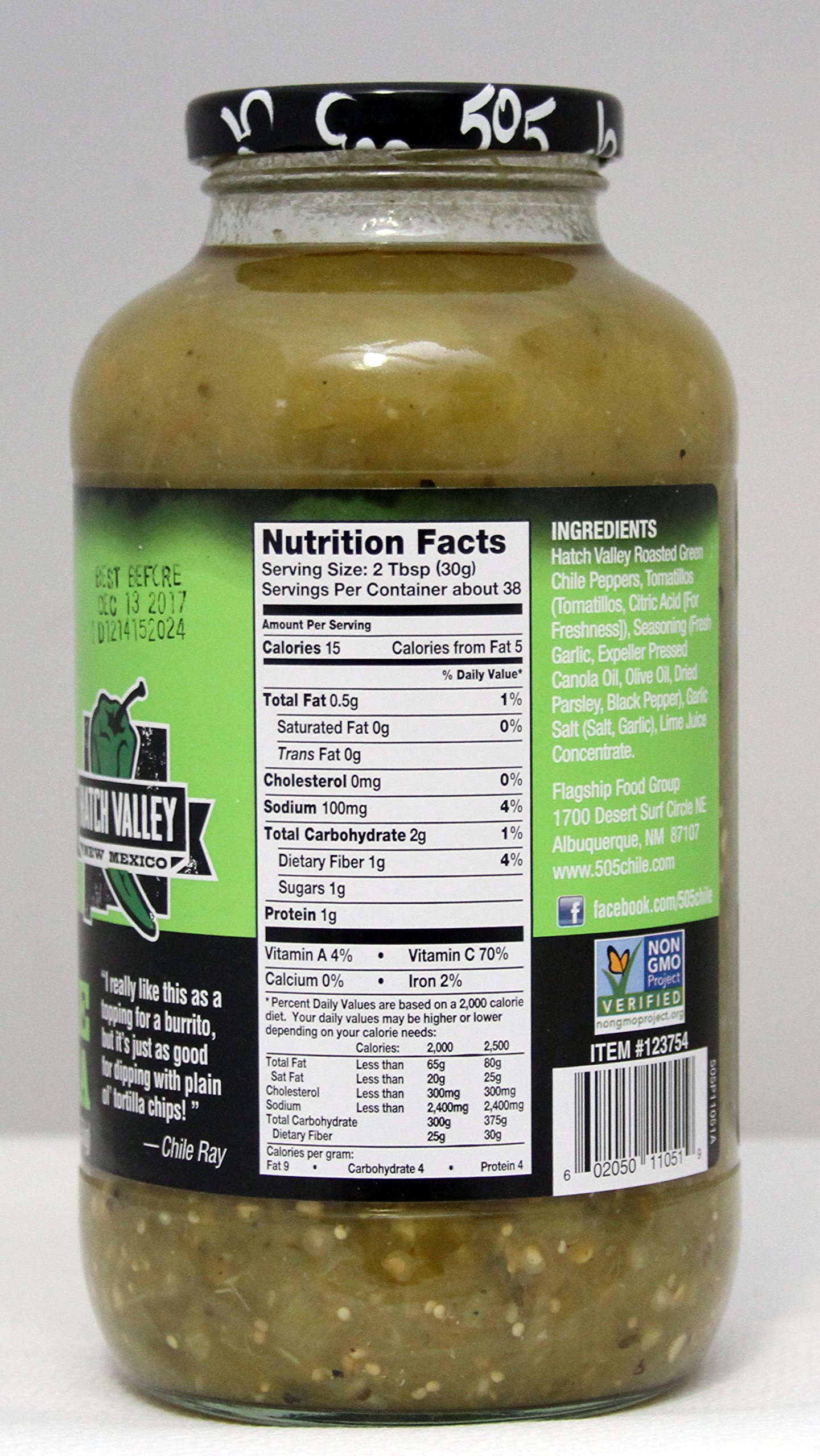 505 Southwestern Hatch Valley Green Chile Salsa Party Pack (2- 40 OZ ) by 505 Southwestern (Image #2)