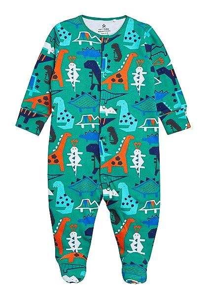 next Bebé-Niños Pijama Tipo Pelele con Motivo De Dinosaurio (0 Meses - 2 Años) Verde 1.5-2 años: Amazon.es: Ropa y accesorios
