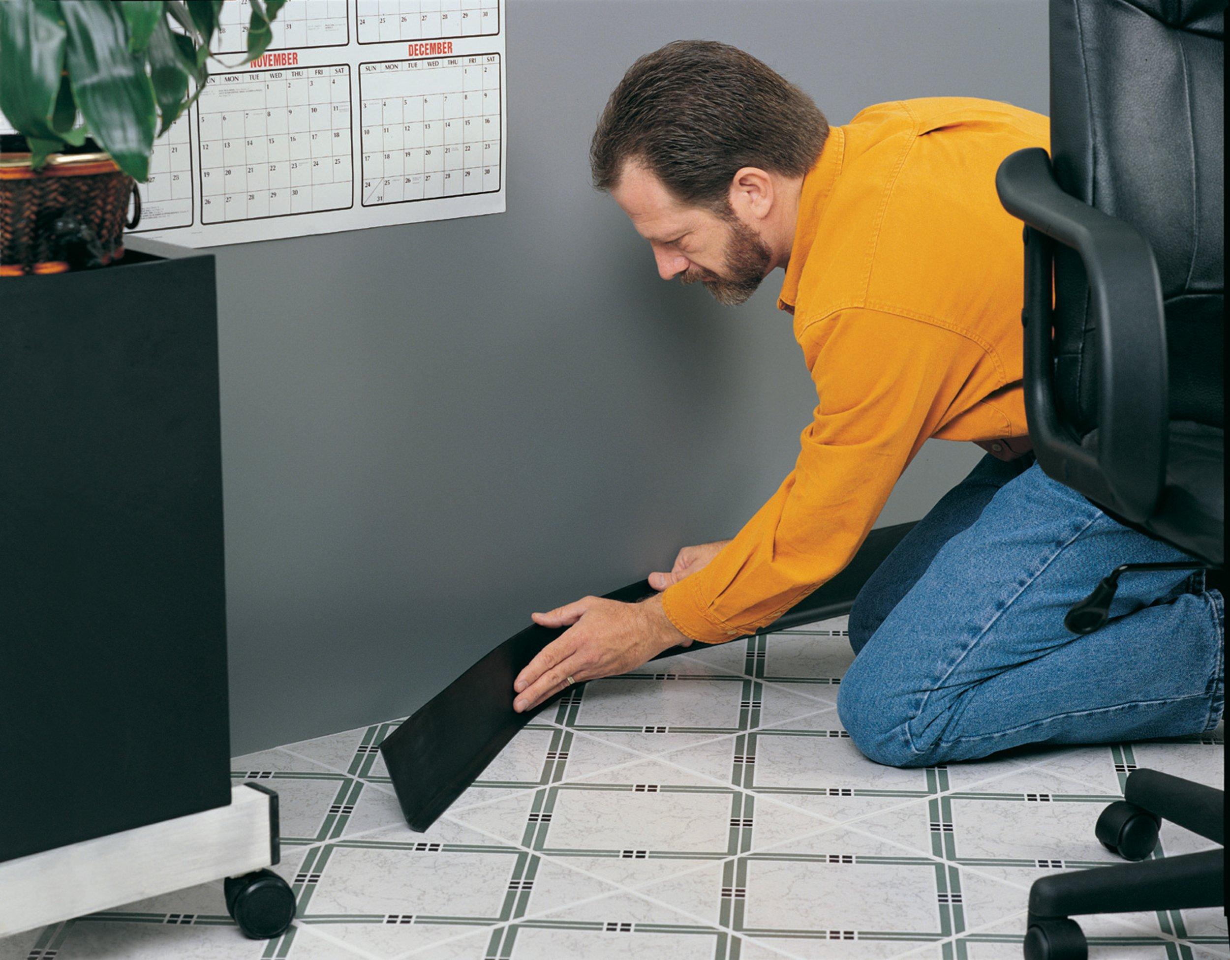MD Building Products 75473 Vinyl Wall Base Bulk Roll 4 Inch-by-120-Feet