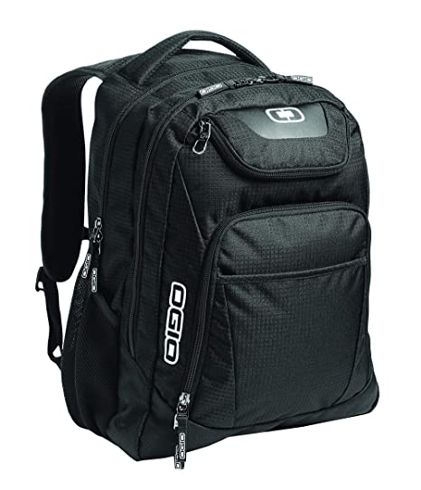 468a229c91ba Amazon.com  OGIO 411069.03 Black Silver Excelsior Carry-On Commuter Backpack   Sports   Outdoors