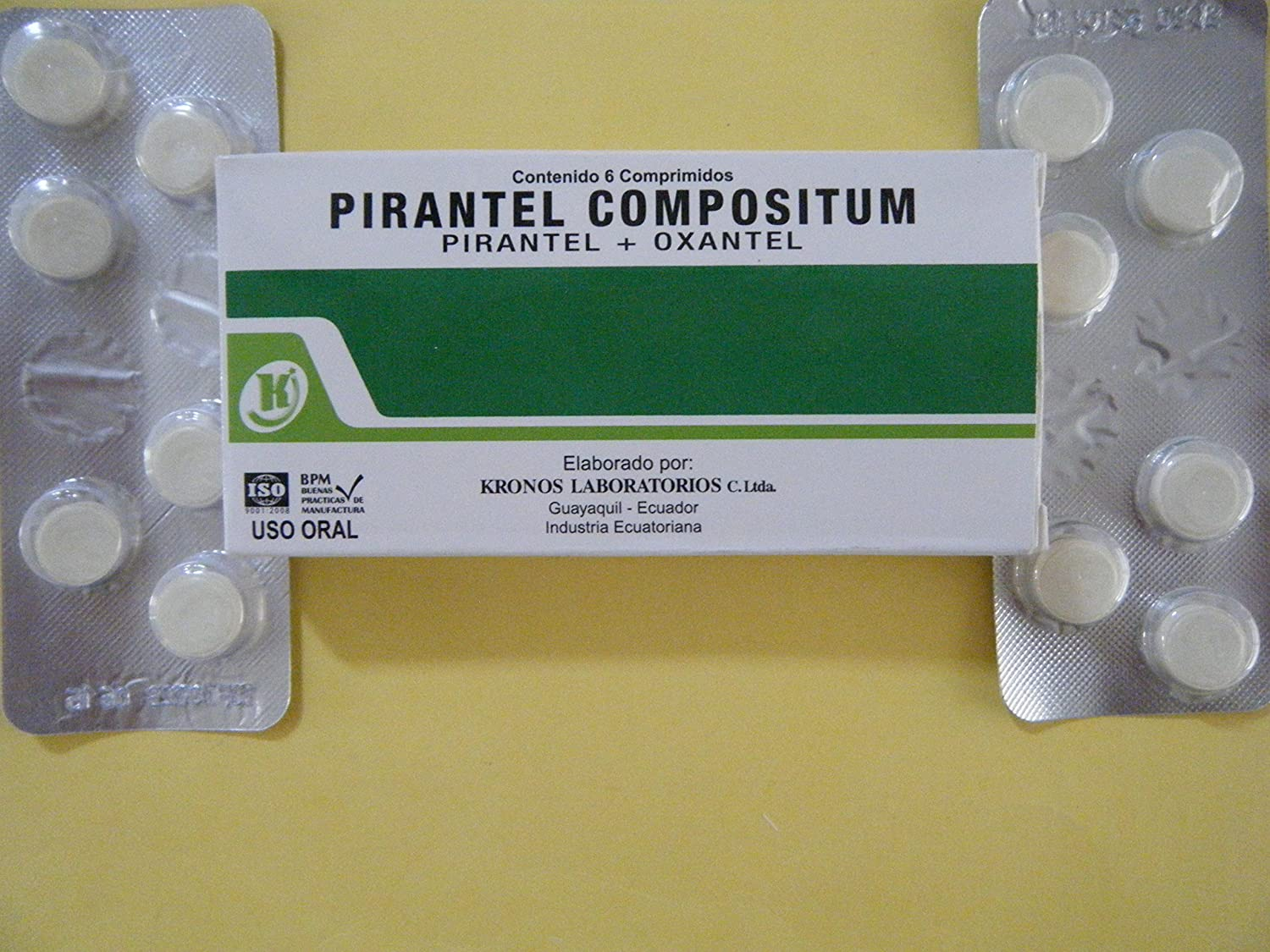 Amazon.com: PYRANTEL PAMOATE Pinworm Treatment 24 TABLETS: Health & Personal Care