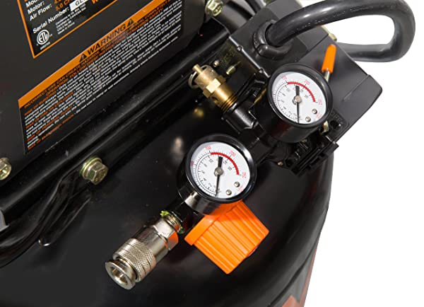 When the tank attains its maximum running pressure, the pump switches off automatically.