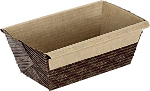 Honey-Can-Do 2590 Mini Loaf Pan, 25-Pack, 4-Inches x 2-Inches x 2-Inches
