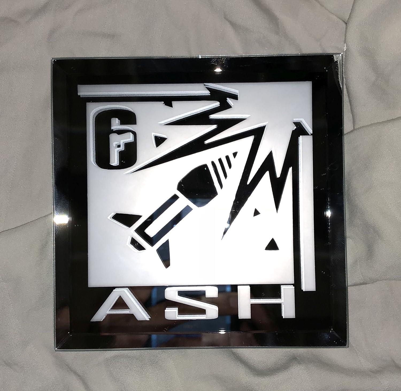 Rainbow Six Siege Ash Limited Edition Logo Mirror
